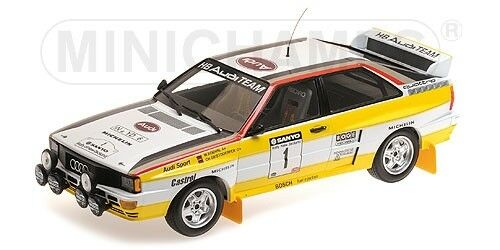 Minichamps 155841101 - Audi Quattro A2 SANYO RALLY OF NEW ZEALAND 1984 1 18