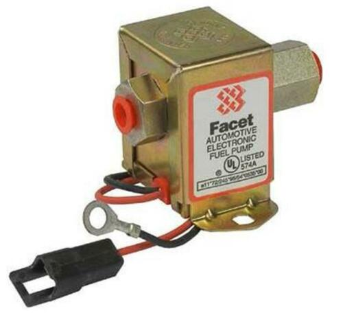 NEW 12V FACET SOLID STATE FUEL PUMP ALL CARBURETED ENGINES JOHN DEERE AH107362