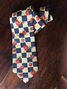 ec1b4cbc4f31 Chargement de l image en cours Original-KENZO-Cravate-Tie-Cravate-100-soie