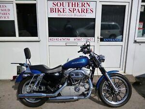 2005-Harley-Davidson-XL883C-Sportster-Custom-Blue-883cc-V-Twin-XL-883-C