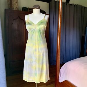 DYED-PETALS-Vintage-Eco-Dyed-Slip-Tie-Dyed-Dress-M-L-38