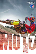 MOTO 7 The Movie DVD Brand New with Free Poster Motocross Dirtbikes Video