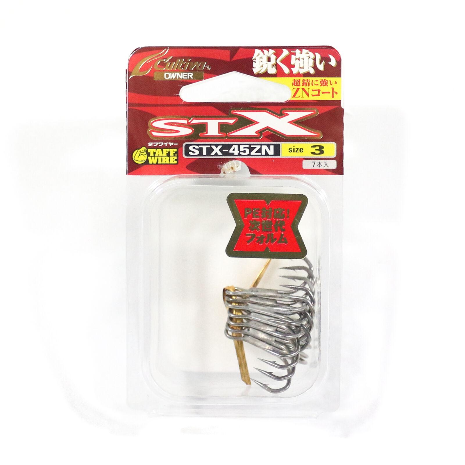 6210 Owner STX-45ZN Treble Hook Size 6
