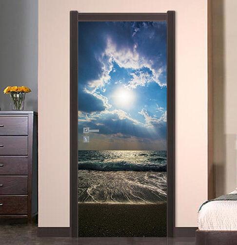 3D Wolken 76 Tür Wandmalerei Wandaufkleber Aufkleber AJ WALLPAPER DE Kyra   Angemessene Lieferung und pünktliche Lieferung    Verwendet in der Haltbarkeit    Economy