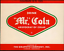 Vintage soda pop bottle label MR COLA Grapette Camden Arkansas new old stock