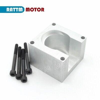 1Set Nema23 Stepper Motor Mounts Aluminum Clamp Bracket Plasma Cutter For CNC