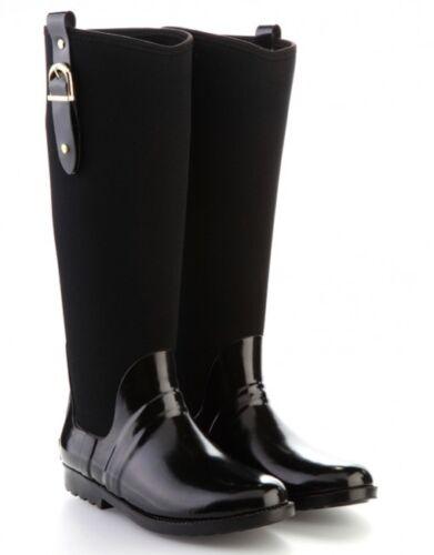 Bottes femme noires pipduck Designer Néoprène welllie Bottes 3.5 /& 4 RRP £ 100 Maintenant £ 30!