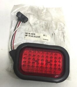 Details about TRUCK-LITE 45072R RED REPLACEMENT LAMP LMP S/T, LED, 12V,  LLV, KIT