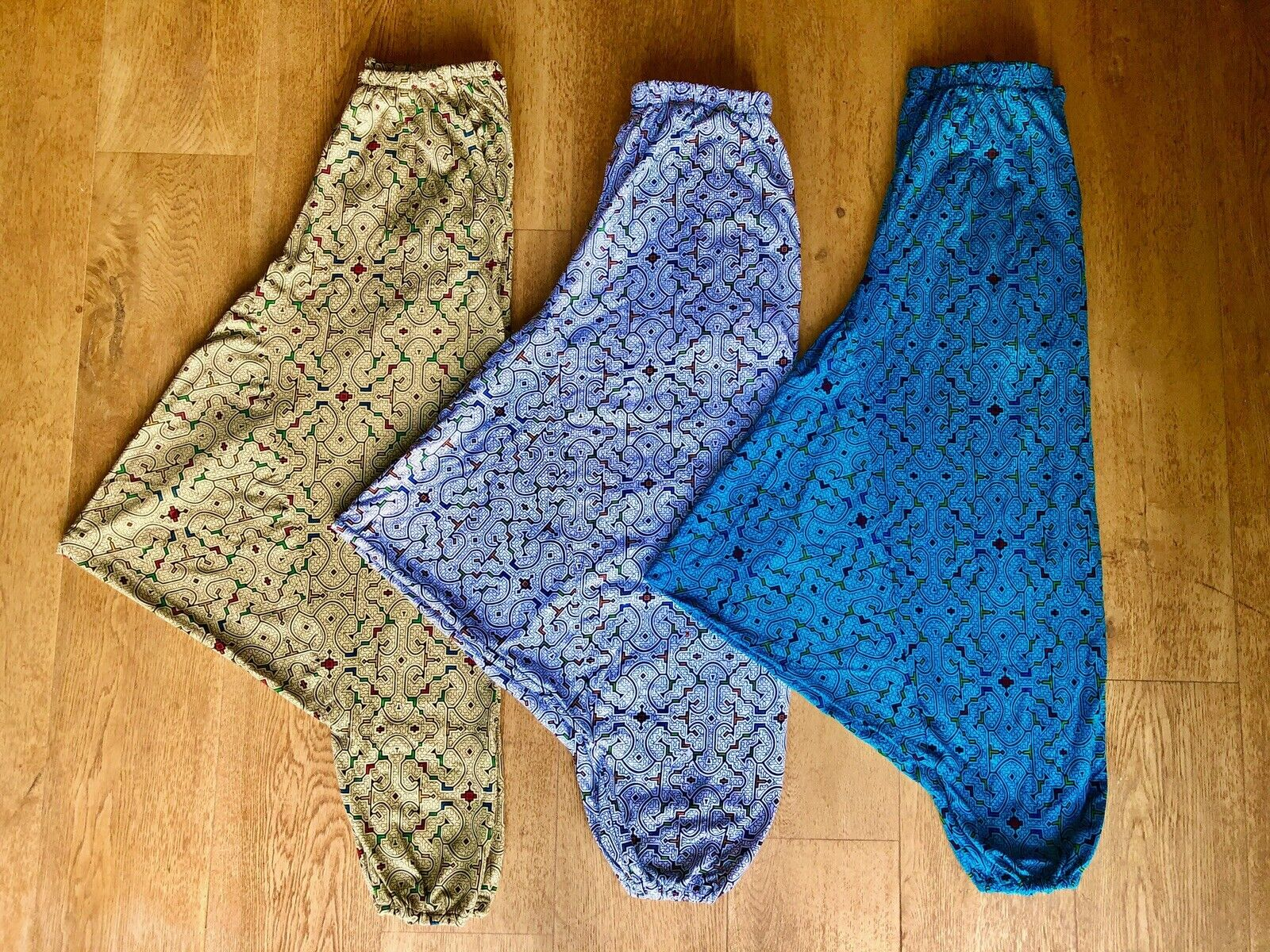 Handmade Shipibo Print Harem 100% Peruvian Cotton Pants.