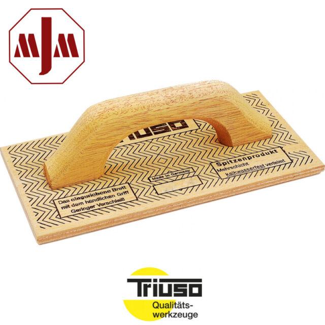 TRIUSO Mehrschicht-Holz-Reibebrett Putzerbrett Mauerbrett