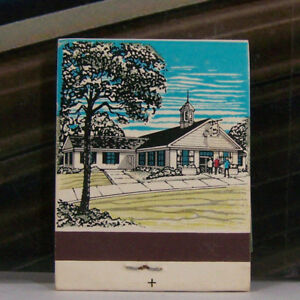 Rare Vintage Matchbook Z1 Michigan Ohio Indiana Bill Knapp's Good Things To Eat