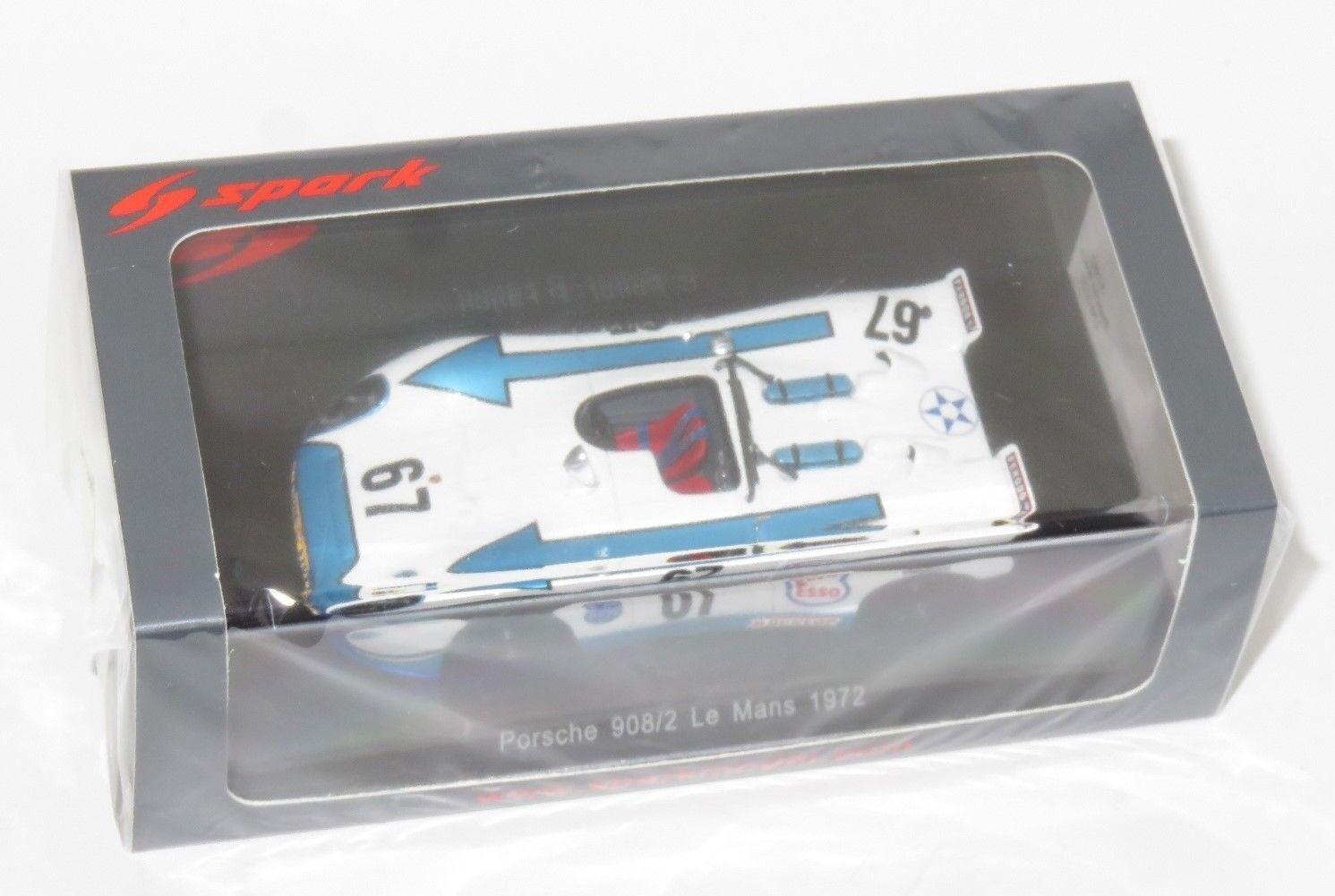 1 43 Porsche 908 2  Christian Poired  Le Mans 24 Hrs 1972
