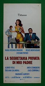 L40 Plakat Die Sekretärin Private Von Meine Vater Hommage Vital Malia