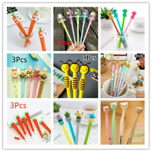 Child Ballpoint School Writing Gel 55Styles Sign Office Wholesale Stationery Pen