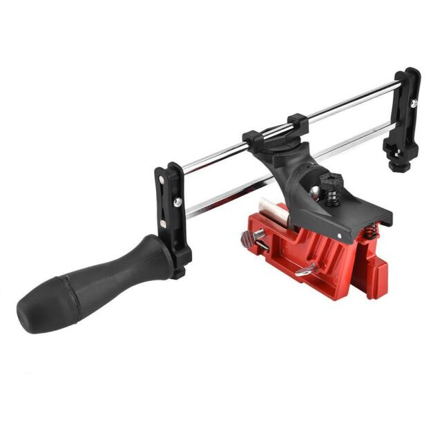 Manual Saw Chain File Guide Sharpener Bar Mount Chainsaw Sharpening Filing Tool