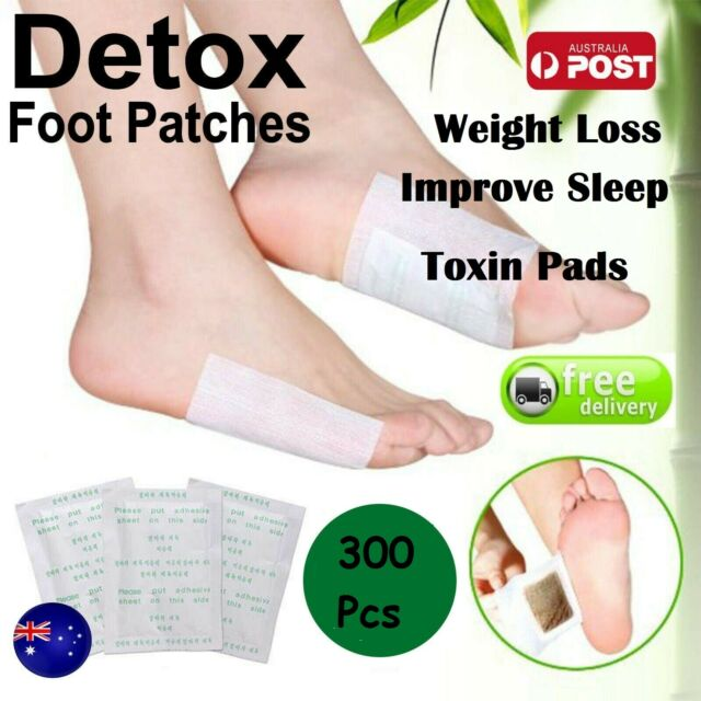 300x Feet Detox Foot Pads Patch Detoxify Adhesive Herbal Toxins Fit Health Care