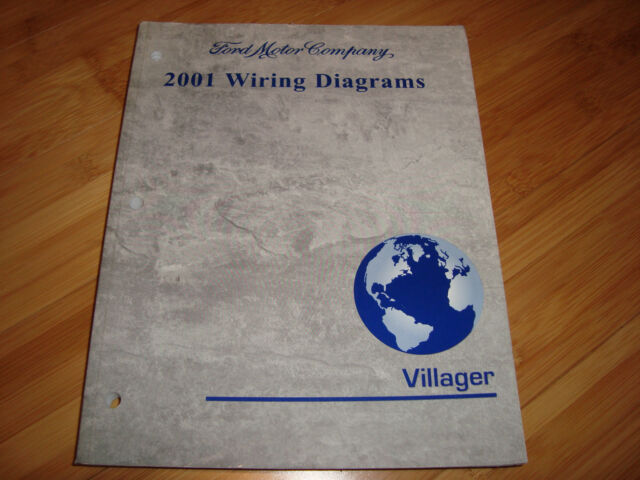Ford 2001 Villager Wiring Diagrams Manual Mwi