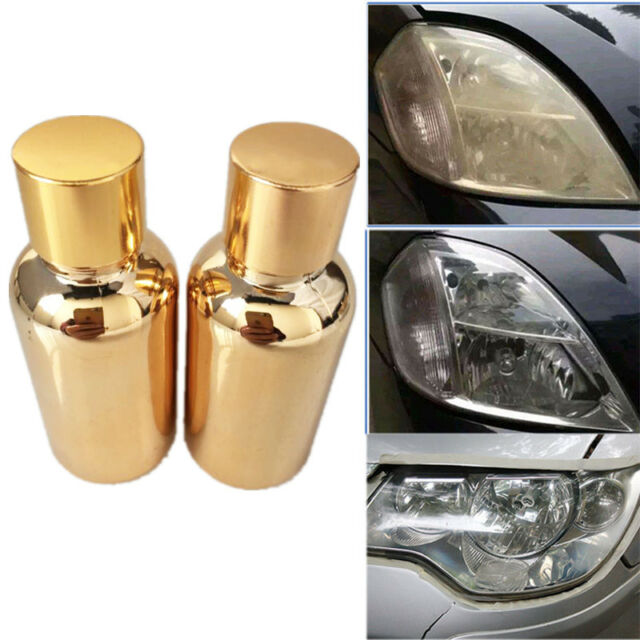 2pcs Chemical Compound Car Headlight Lens Cover Repair Coating