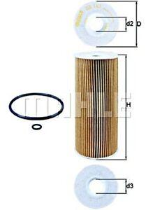 MAHLE Oil Filter For VW AUDI SEAT SKODA FORD MULTICAR Bora Caddy II Mk4 1100696