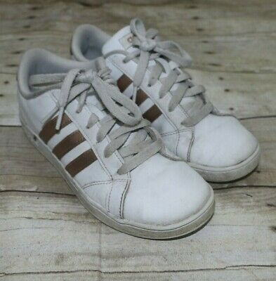 White Rose Gold Casual Sneaker Size