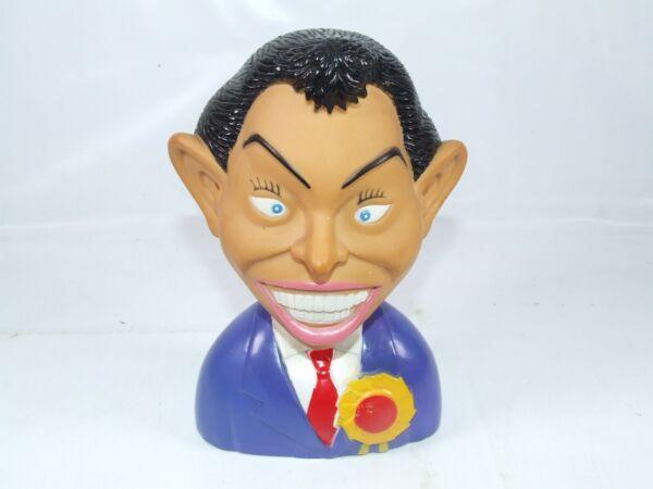 Bien éDuqué Tony Blair Vinyl Head & Shoulders Politique Fun Caricature Figure Vente D'éTé SpéCiale