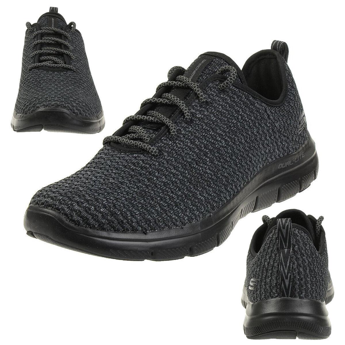 Skechers Skech Flex Advantage 2.0 Cravy Herren Sneaker Fitness Schuhe BBK