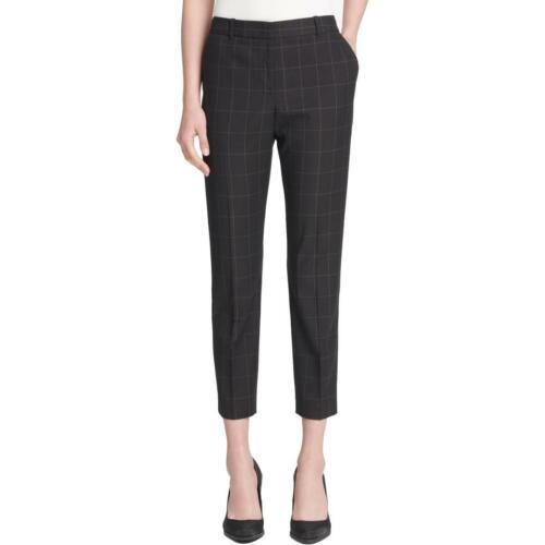 DKNY Womens Window Pane Skinny Ankle Pants BHFO 9196