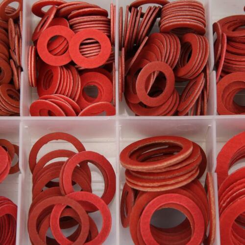600stk Unterlegscheiben Karosseriescheiben U-Scheiben aus Stahl 12 Sortiment Set