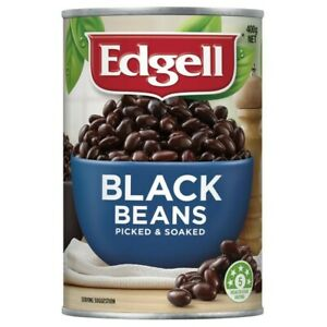 Edgell Picked and Soaked Delicious Flavour & Textured Tasty Black Beans 400g