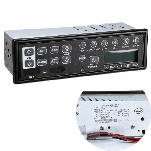 Car Truck Radio Excavator Radio 12-24V AM FM MP3 player for Hitachi Komatsu Kato