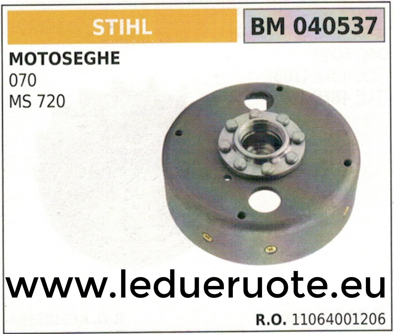 11064001206 VOLANO MAGNETICO magnete ventola MOTOSEGA STIHL 070 MS 270