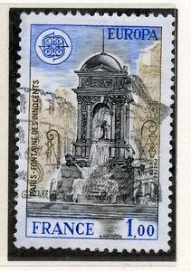 TIMBRE-FRANCE-OBLITERE-N-2008-FONTAINE-DES-INNOCENTS-PARIS