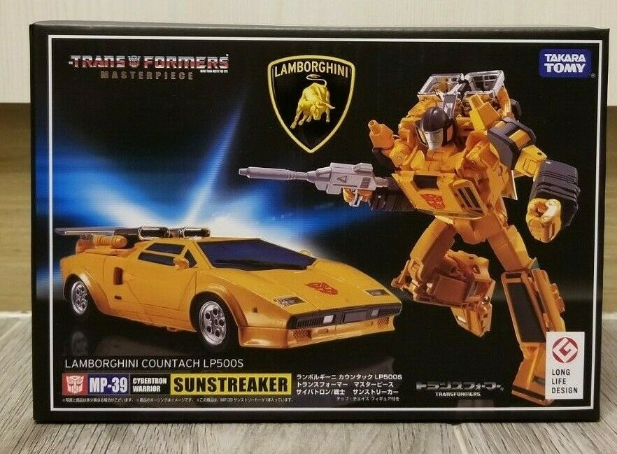 TRANSFORMERS TAKARA TOMY MASTERPIECE MP-39 SUNSTREAKER MISB ( FREE SHIPPING    )