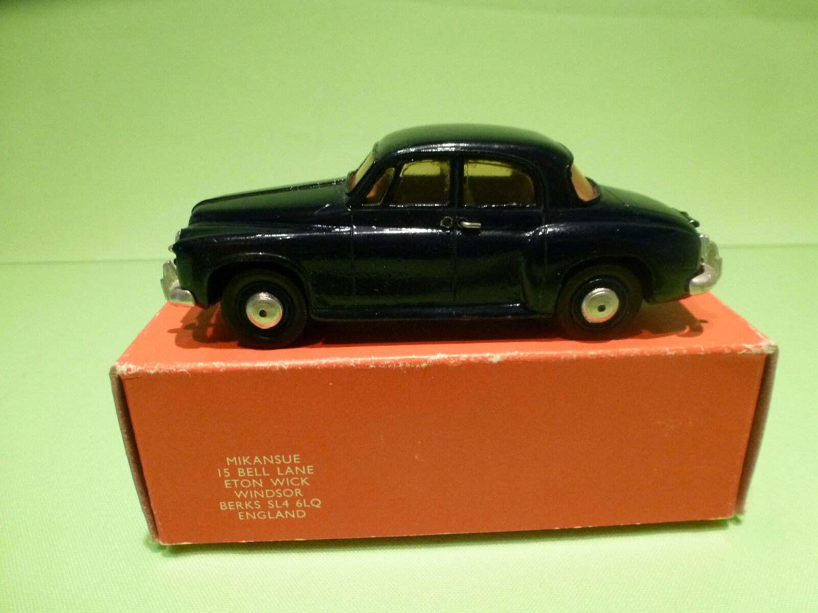 METAL BUILT KIT 32 MIKANSUE ROVER 100 1961 - DARK BLUE 1:42 - VERY GOOD IN BOX