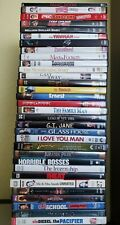 32 Various used DVD wholesale lot. Available individually. You pick Titles.