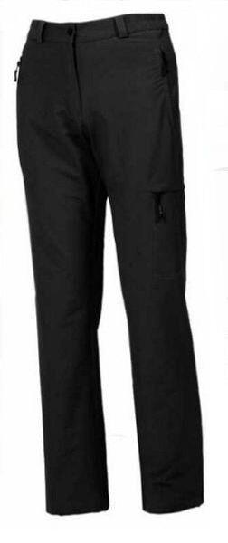 Hot Sportswear Damen Thermo Softshell Outdoorhose Colorado Kurzgröße Schwarz Neu