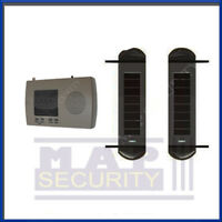 Solar Powered 900m Wireless Perimeter Swimming Pool Alarm System - Uk Stock