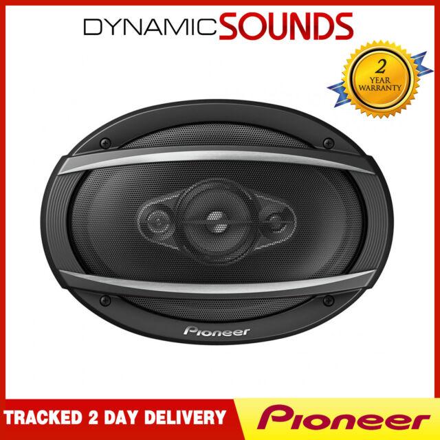"Pioneer TS-A6980F 6"" x 9"" 4-Way Coaxial Car Audio Speaker System 650W"