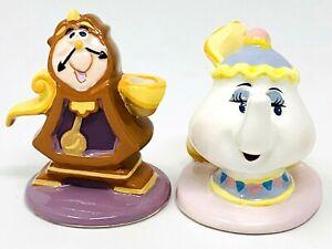 Disney's Beauty & Beast Birthday Candle Holders - Schmid Cogsworth & Mrs. Potts