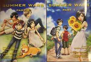 Summer Wars ( Part 1-2 ) English Manga Graphic Novels SET lot New