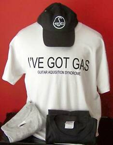 """""""j' Ai Gaz"""" Guitar T-shirt Taille S-xl-afficher Le Titre D'origine Gf0muk6x-07174153-575198094"""