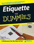 Etiquette For Dummies by Sue Fox (Paperback, 2007)