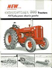 Ih International 600 Wheatland Tractor Diesel Gasoline Sales Brochure Farmall