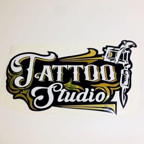 Tattoo Stickers Studio Window Shop Wall Decal Vinyl Art Advertising Retail