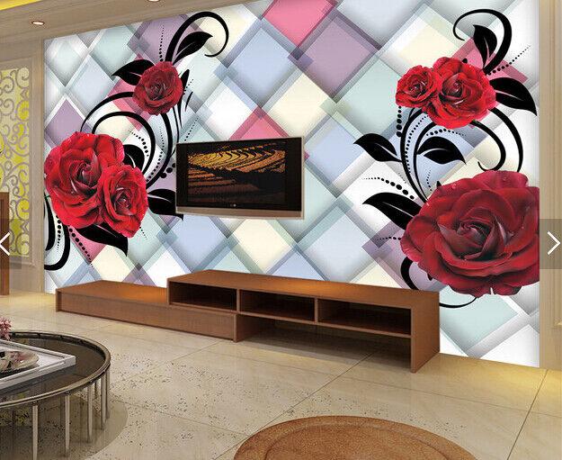 3D ColGoldt Plaid  83 Wallpaper Mural Paper Wall Print Wallpaper Murals UK Carly