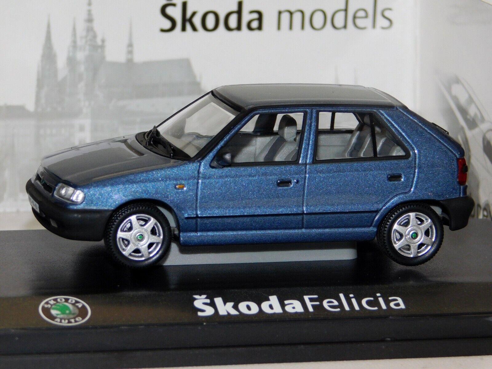 SKODA Felicia 1994 Azul Hielo Abrex 1 43