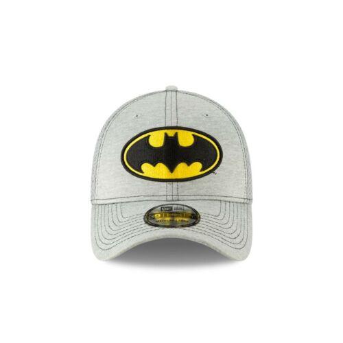Batman Classic Logo Grey New Era 39Thirty Fitted Hat