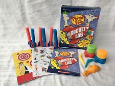 Disney Phineas and Ferb Rocket Lab Kit Summer Vacation Launch Kit
