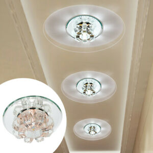 Ceiling-Light-LED-Chandelier-Crystal-Fixture-Lamp-Pendant-Living-Room