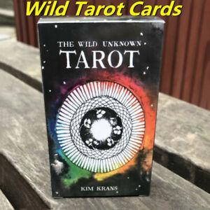 NEW-Cards-Wild-Wood-Tarot-Cards-Beginner-Deck-Vintage-Fortune-Telling-78Pcs-Set